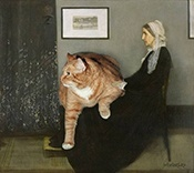 whistlers mothers cat
