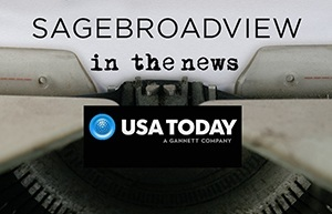 SAGEbroadview in USA Today