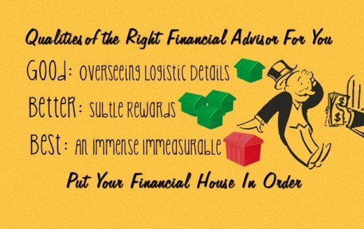 choosing financial advisor