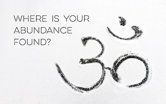 where is your abundance found
