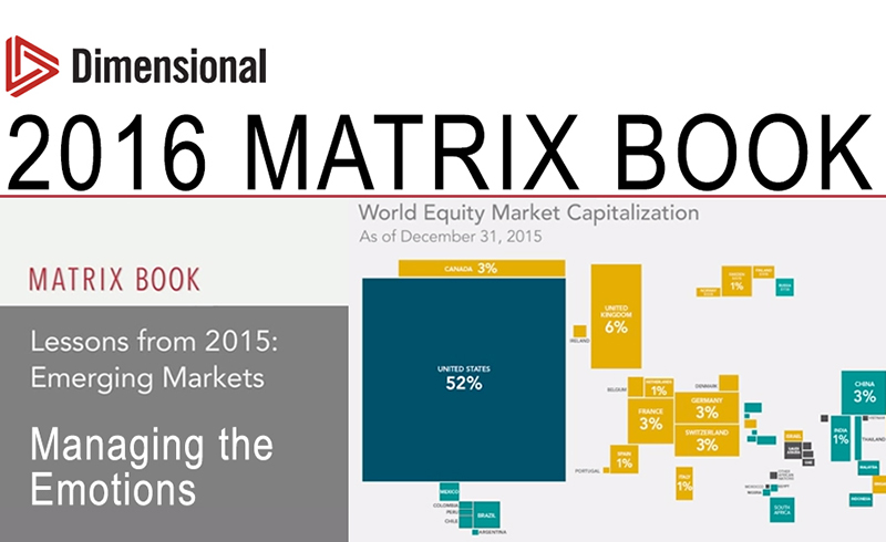 2016 Matrix Book