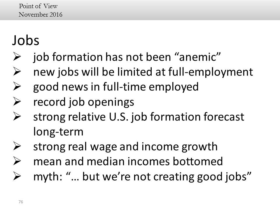 jobs summary