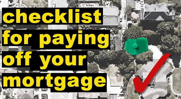 mortgage checklist