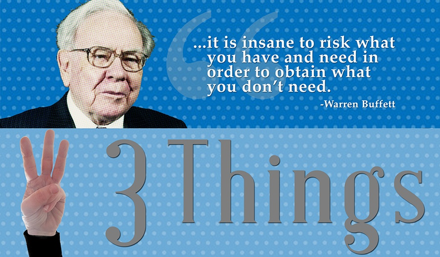 wisdom from Warren Buffett